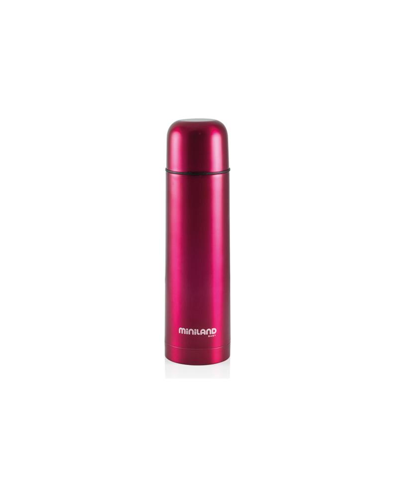 Bouteille isotherme 0.5l de couleur rose