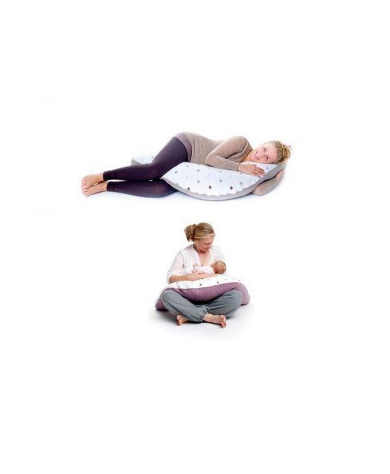Coussin d'allaitement et de repos bébé