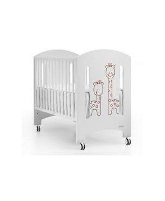 Lit de bébé mobile et à barreaux