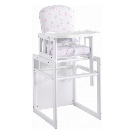 Chaise haute Base rose | Boutiques bébé de Baby Concept Maroc