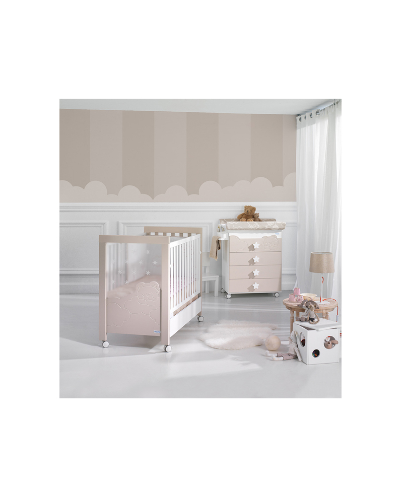 Lit + Commode Dolce Luce Relax