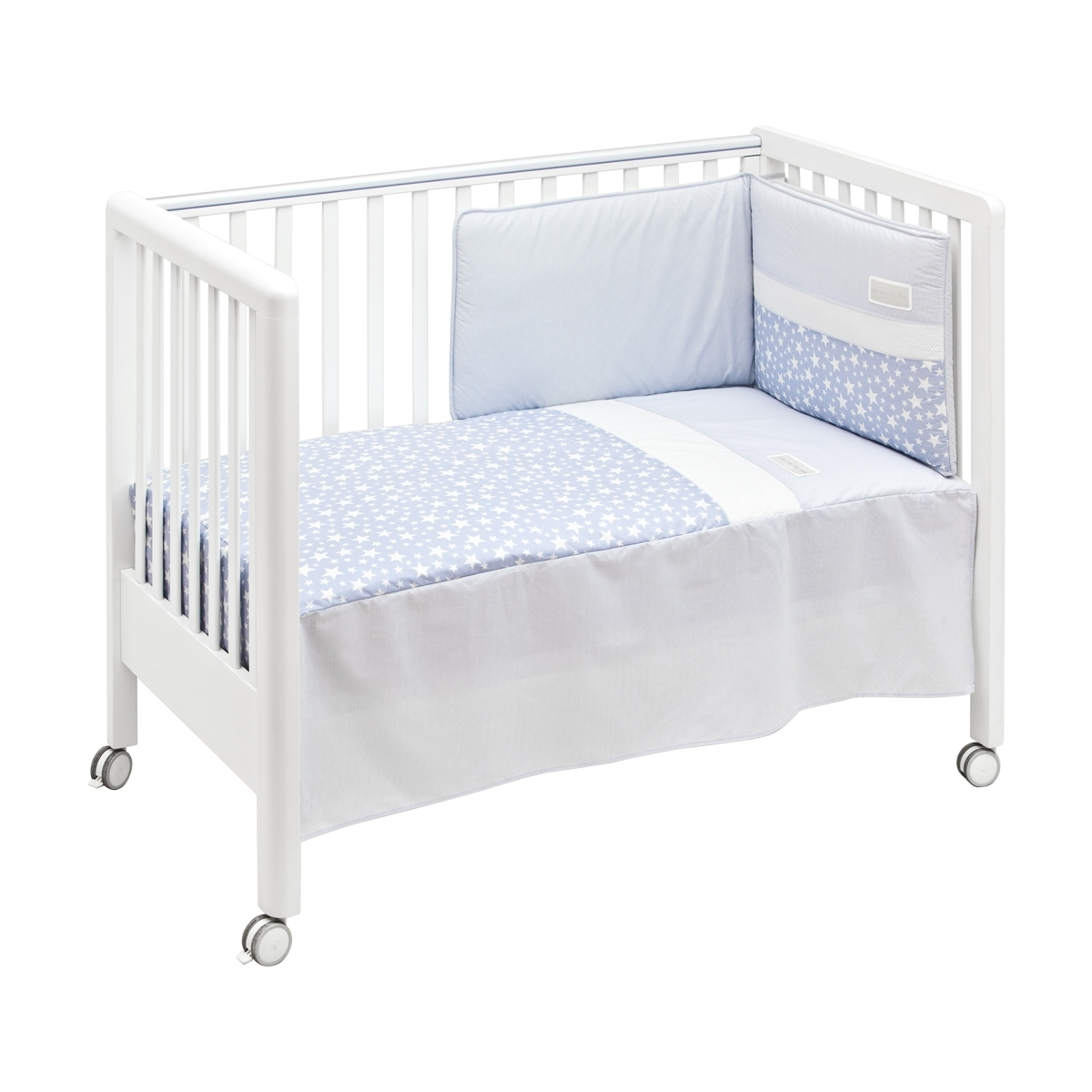 Ensemble dessu de lit tour de lit stela 60x120 cm baby - Ensemble de lit ...