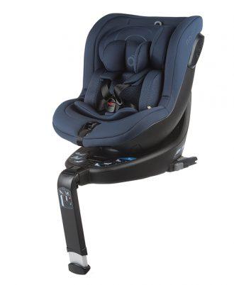 siège-auto enfant bleu