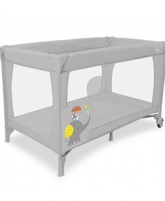 Lit parapluie bébé du modèle Speed elephant Asalvo - Baby Concept Maroc