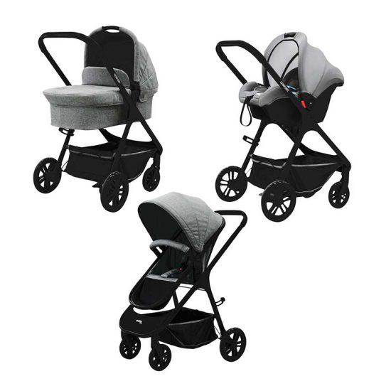 Poussette Trio Confort Asalvo - Design et Confort pour votre bébé - Baby Concept Tanger -Tétouan