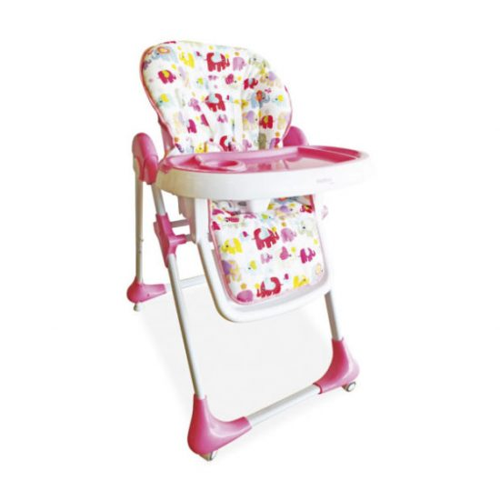 Chaise haute à roulettes de Asalvo - Baby Concept Tanger - Tétouan, Maroc