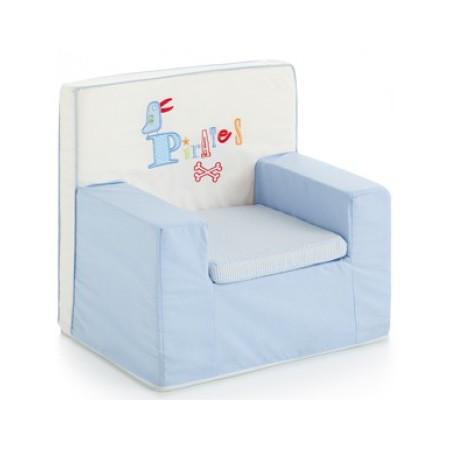 Fauteuil pour bébé de la collection Eleulos de Pirulos Bleu- Maroc